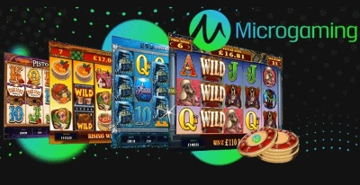 Microgaming provide a variety of gaming titles