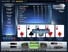 video poker online casino games